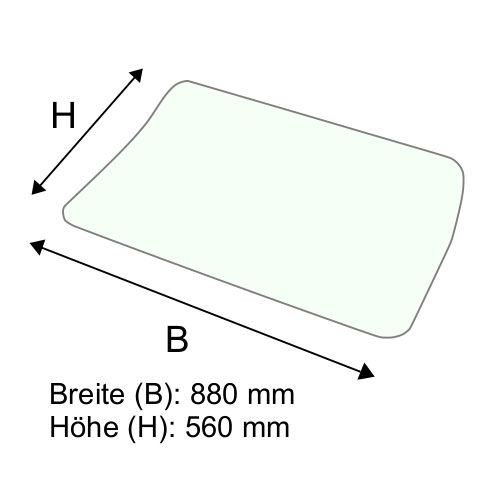 Dachscheibe für Still RX70-18T BR 7314-7316 (56324376301)