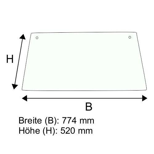Dachscheibe für Jungheinrich CD/CL 22-33 C/H (50043279)