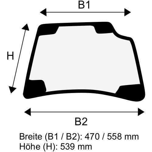 Dachscheibe für Linde E12 E14 E15 E16 E18 E20 BR 386 (3864376300)