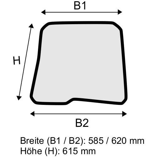Dachscheibe für Linde E20 E25 E30 E35 BR 387 (3874376301)