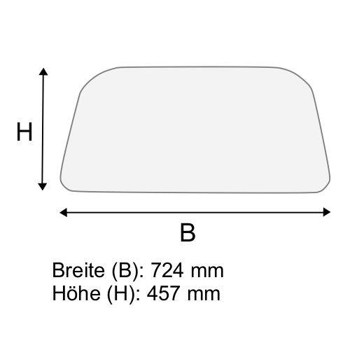 Dachscheibe für Linde H20 H25 H30 H35 BR 351-03 (3514379004)