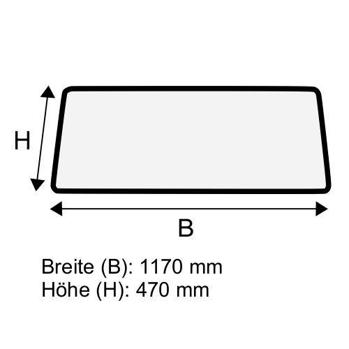 Dachscheibe für Linde R14 R14/G R16 R16/G R20 R20/G BR 115-12 (1154376307)
