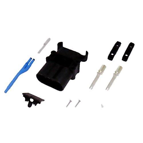 REMA Batteriestecker männlich 320A 50mm² mit Luftadapter