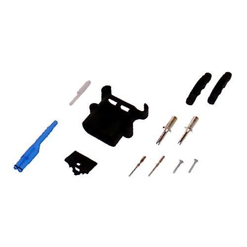 REMA Batteriestecker männlich 80A 16mm² mit Luftadapter und Hilfskontakten