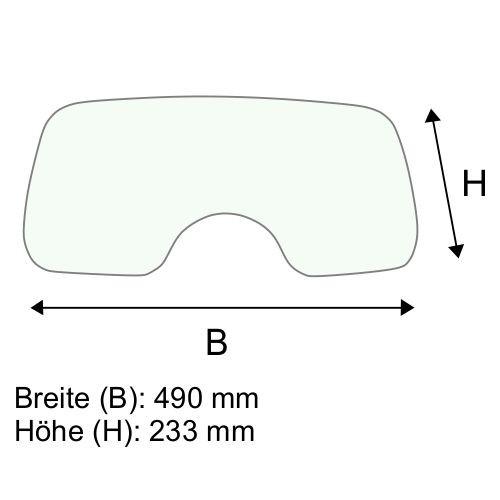 Dachscheibe für Still RX70-40T BR 7335-7338 (720490)