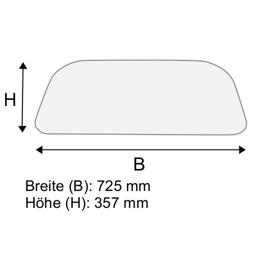 Dachscheibe für Linde H35 H40 H45 BR 352-01/02 (3514379001)