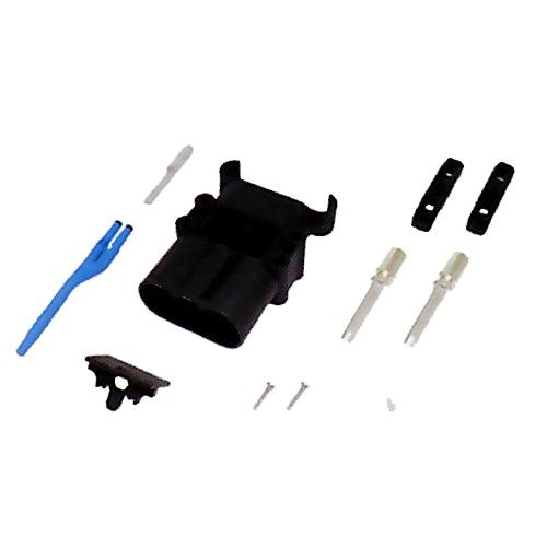 REMA Batteriestecker männlich 320A 95mm² mit Luftadapter