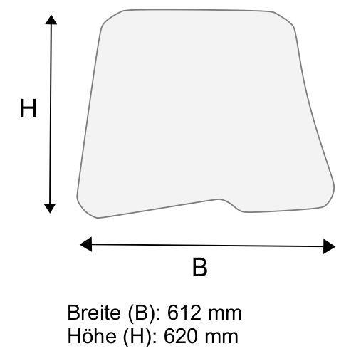Dachscheibe für Linde E20 E25 E30 E35 BR 387 (3874376302)