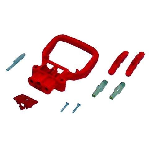 REMA Batteriestecker weiblich 80A 35mm² mit Griff rot
