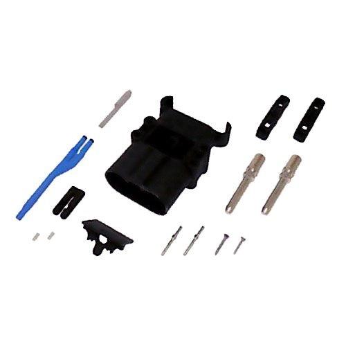 REMA Batteriestecker männlich 320A 95mm² mit Luftadapter und Hilfskontakten