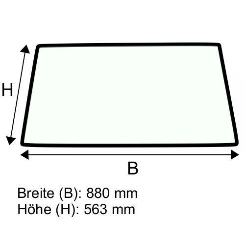Dachscheibe für Jungheinrich 2ET2500-2ET4000 (51114729)