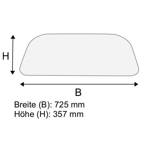 Dachscheibe für Linde H20 H25 H30 BR 351-01 (3514379001)