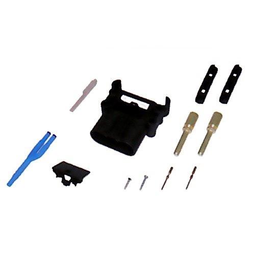 REMA Batteriestecker männlich 160A 35mm² mit Luftadapter und Hilfskontakten
