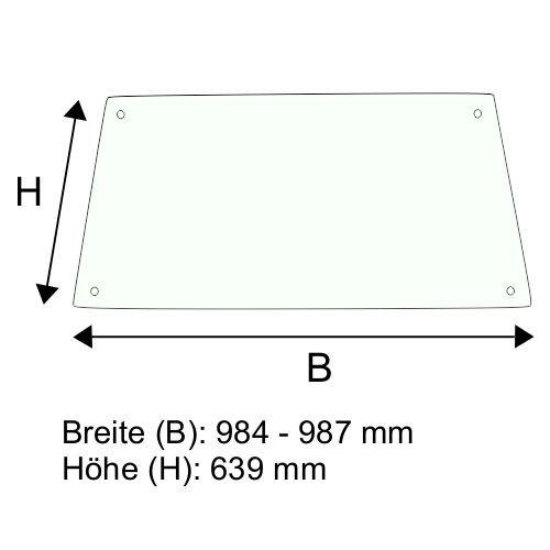 Dachscheibe für Jungheinrich DFG 540s (50428746)