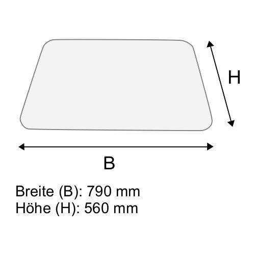 Dachscheibe für Still R70-16 BR 7052-7056 D (0161576)