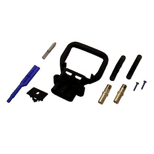REMA Batteriestecker weiblich 80A 16mm² mit Luftadapter und festem Griff